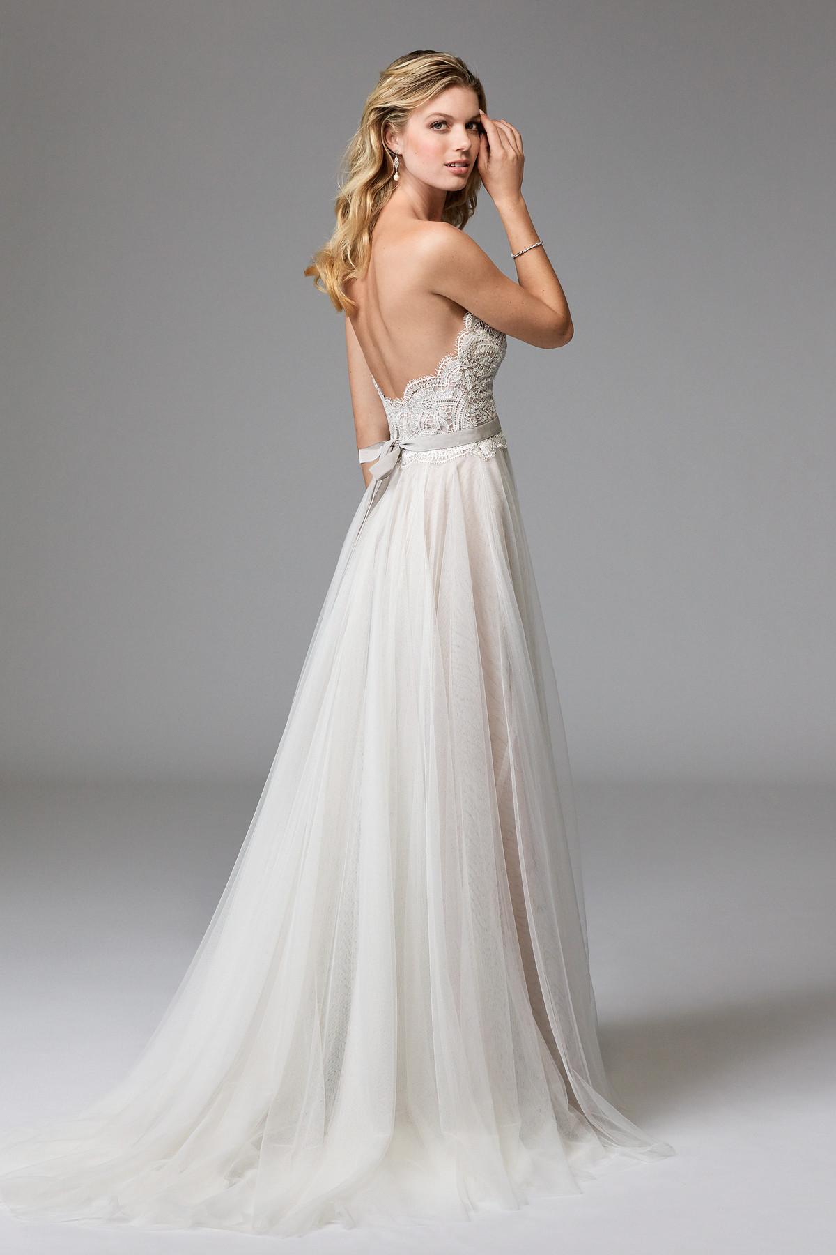 Della (Beaded) 17711B | Wtoo Brides | Wtoo
